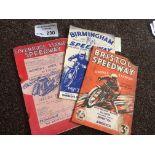 Speedway : Liverpool Stanley v Bristol 26/04/1937
