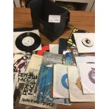 """Records : DEPECHE MODE - small case of 20+ 7"""" sing"""