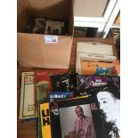 Records : Jazz - 50+ albums in box inc Mchargue's