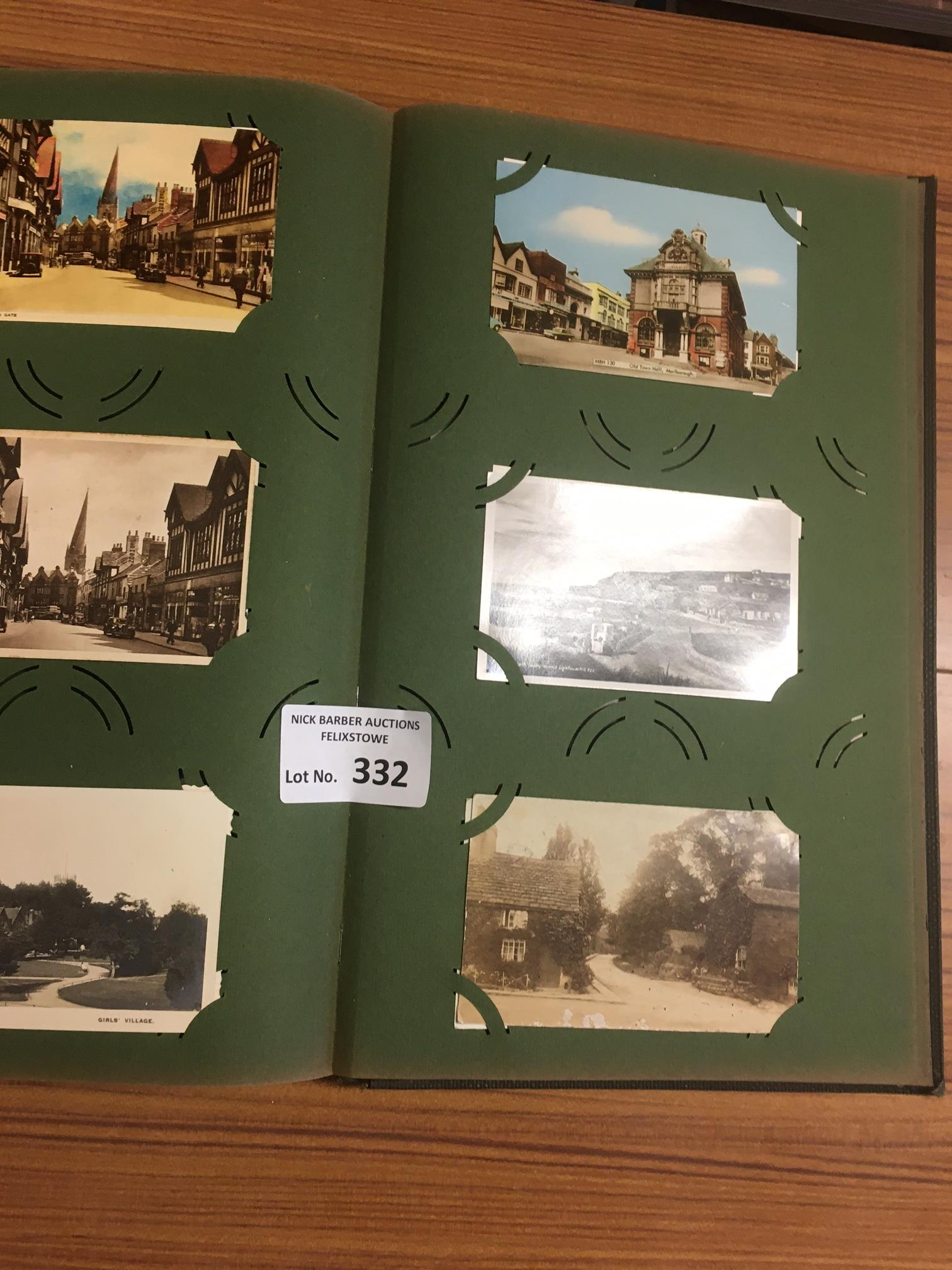 Collectables : Postcards - old album - topographic - Image 2 of 4