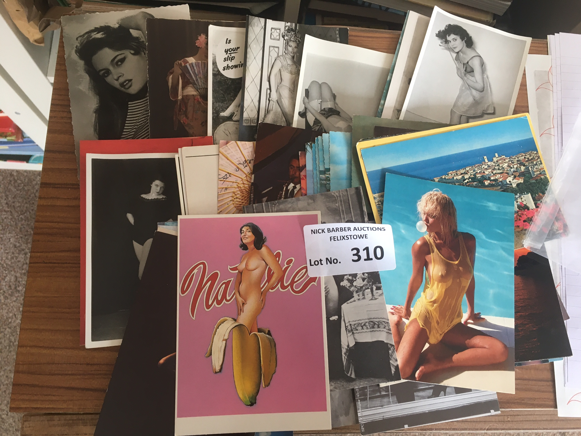 Postcards : Bundle of glamour cards in good cond -