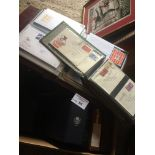 Stamps : Large box of GB covers back to well repre