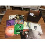Records : 20+ rare Indie 45's inc Manics, Cast, New