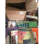 Records : Jazz - 40+ albums in box - nice lot inc