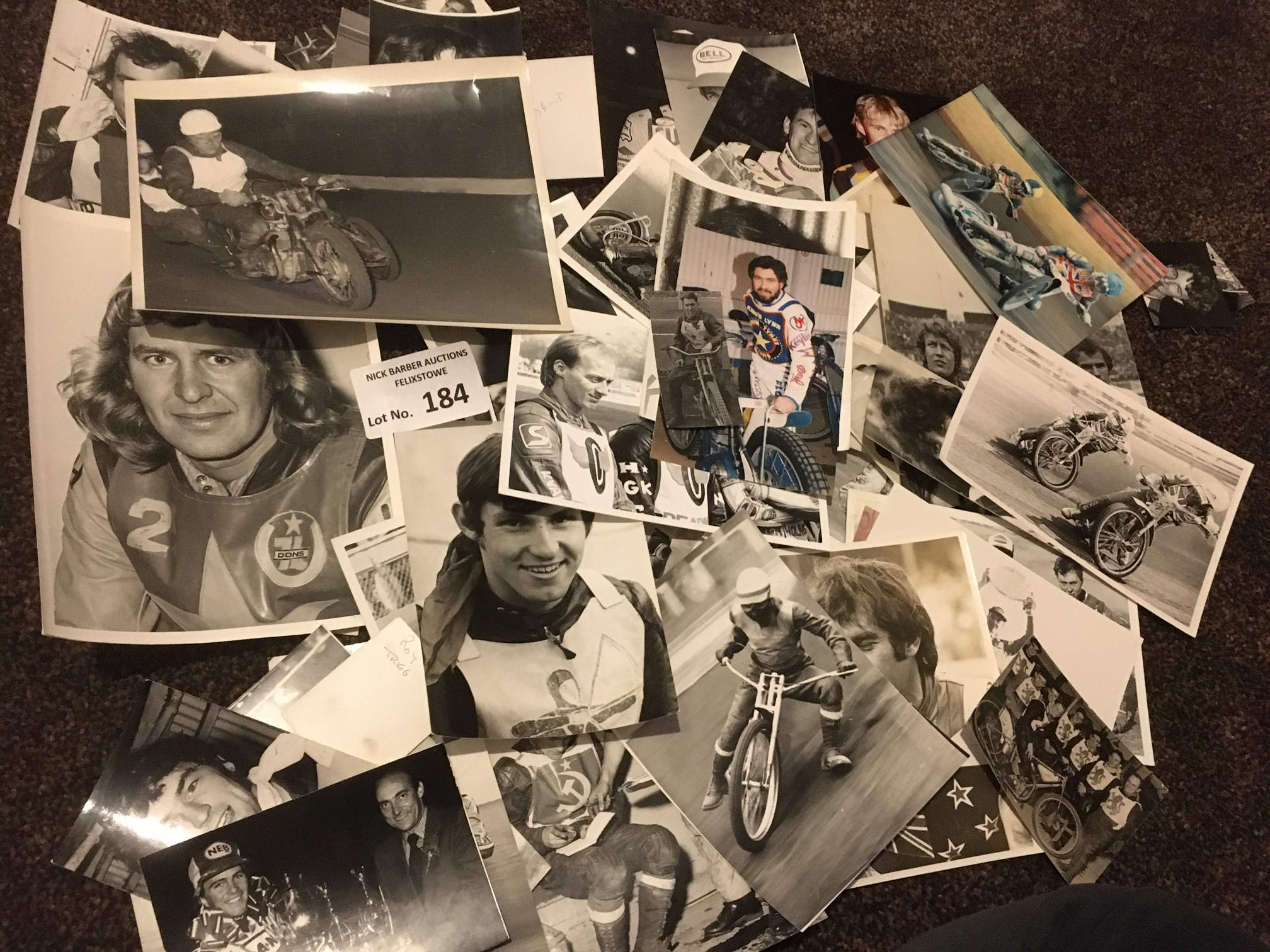 Speedway : Collection of photographs - mostly b/w