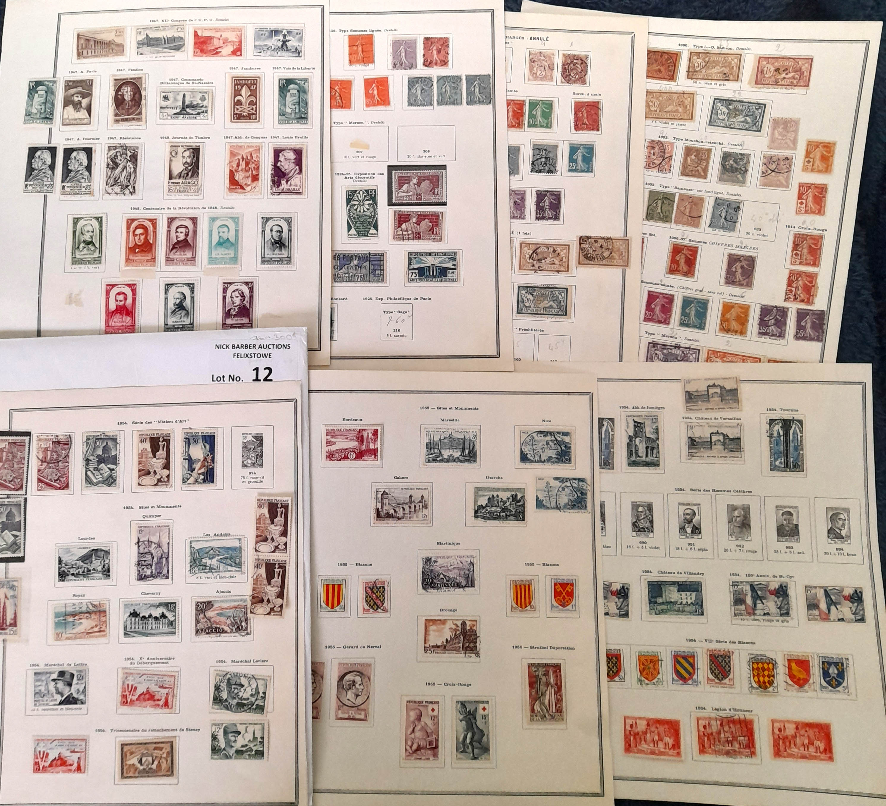Stamps : FRANCE - Small Collection early to modern