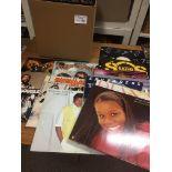 "Records : 35+ Soul albums & 12"" singles inc Gaye,"