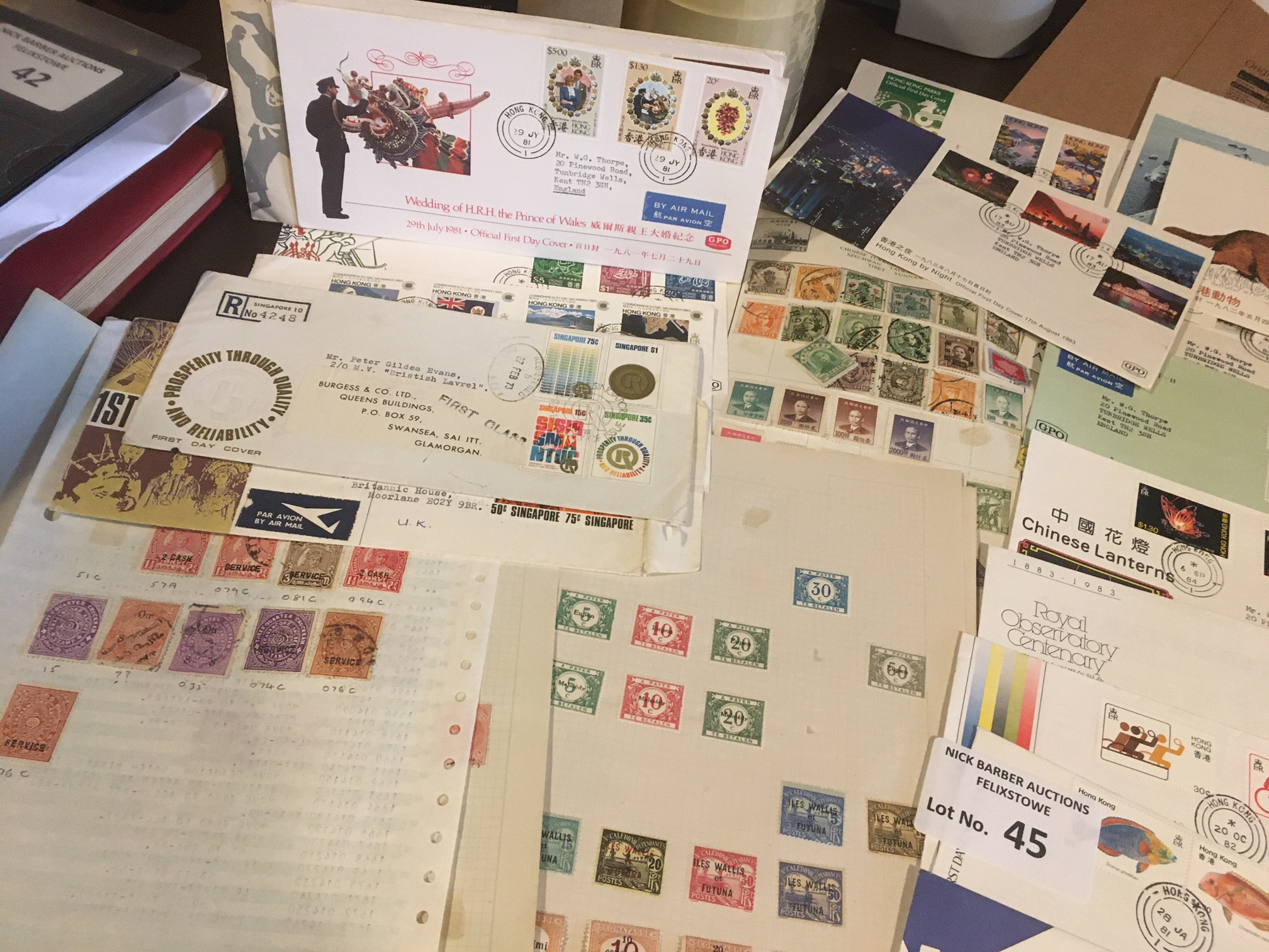Stamps : Interesting lot of stamps inc China, a fe - Image 2 of 3