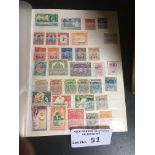 Stamps : Box of better commomwealth stamps on stoc