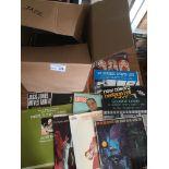 Records : Jazz - 40+ albums in box inc Hawkins, P