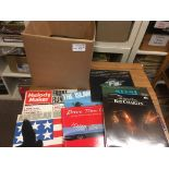 Records : Compilations - box of albums 40+ inc Isl