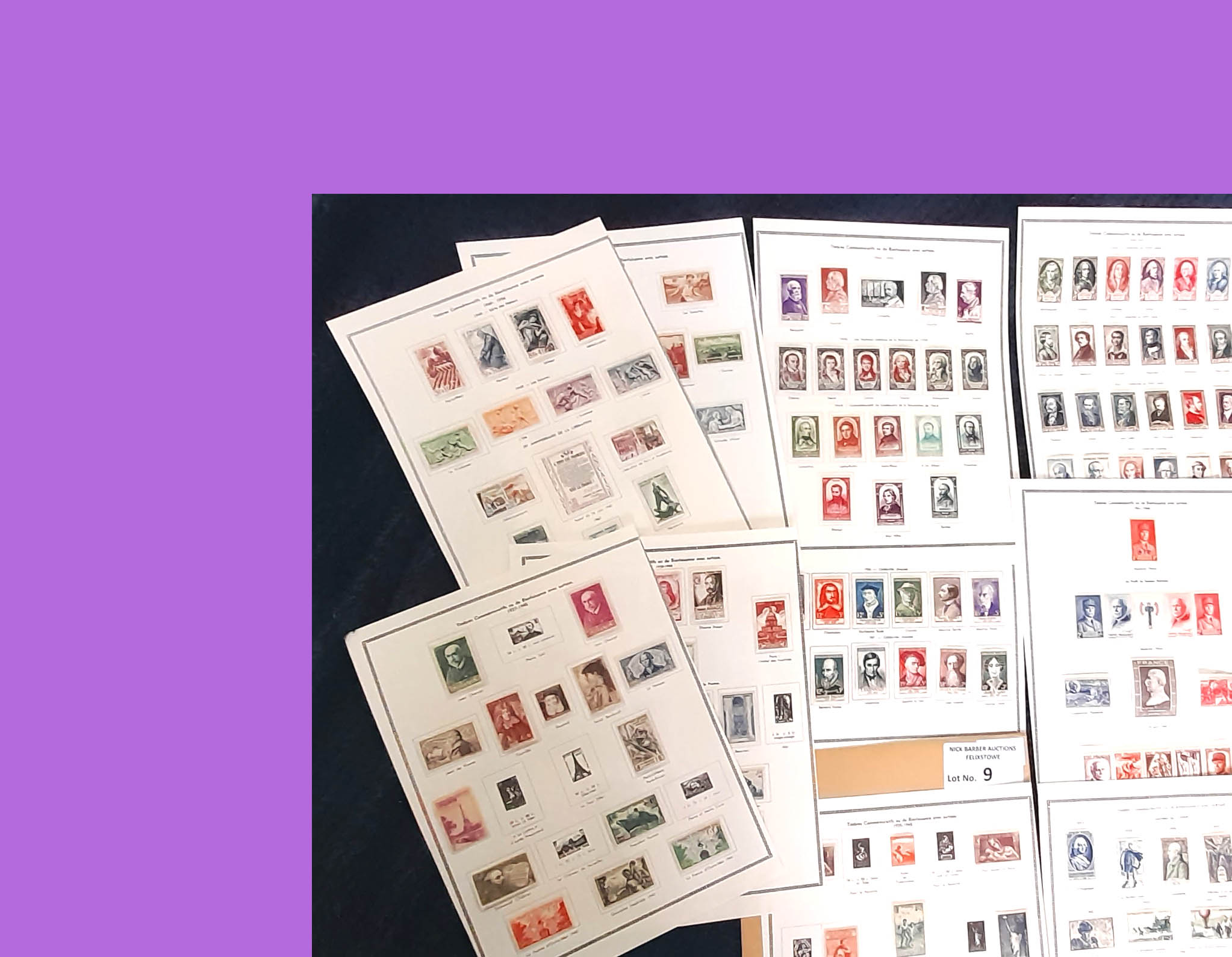 Stamps : FRANCE LMM Sel . from c1935 to late 50s