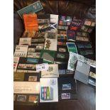 Stamps : GB presentation packs QEII - pre decimal