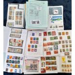 Stamps : CIRCULATED CLUB BOOKS -Approx 40 incl use