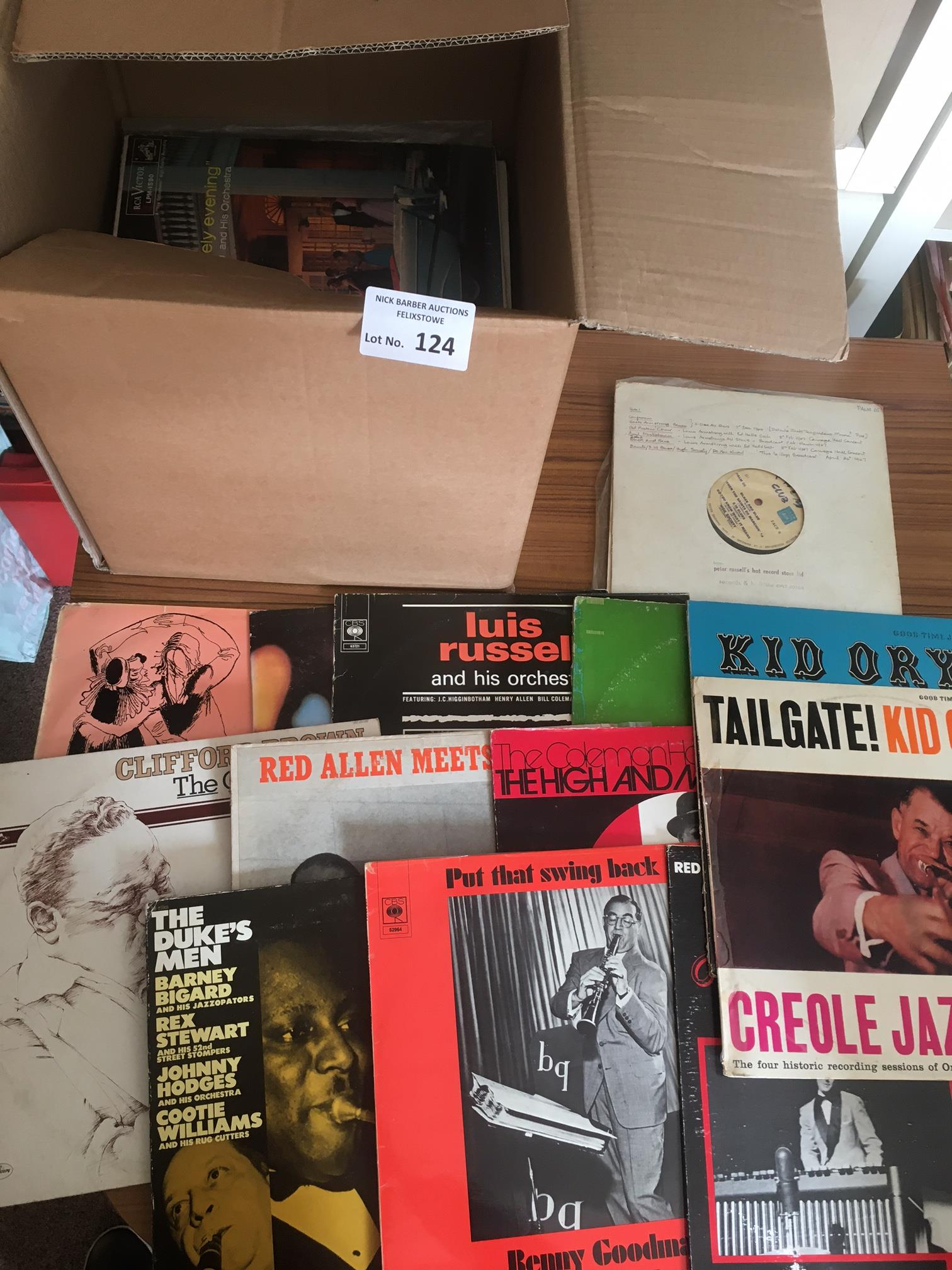 Records : Jazz - 40+ albums box collection inc na