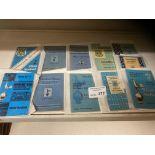Football : Tottenham handbooks - nice selection 19