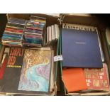 Records : SIMPLY RED collection in 2 banana boxes