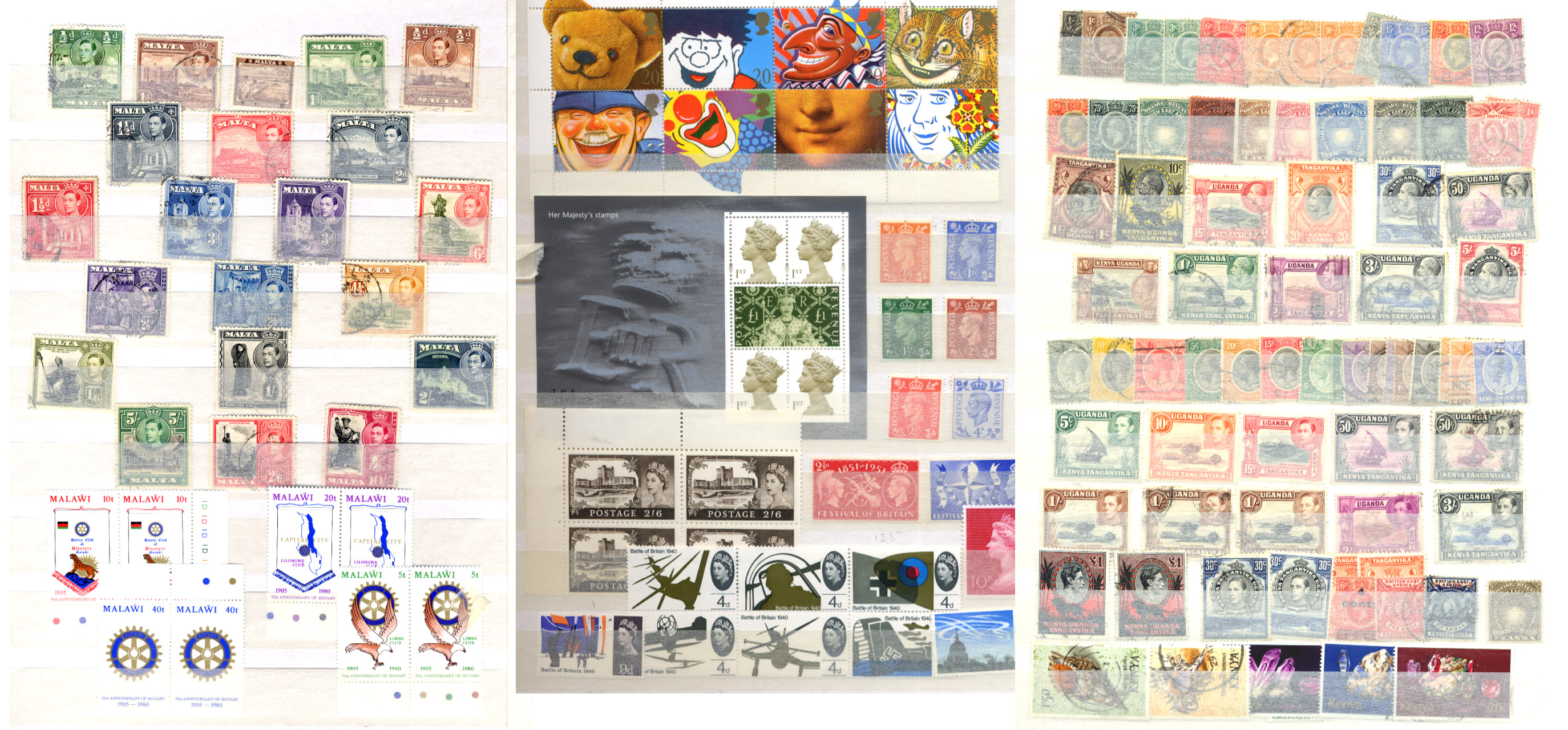 Stamps : BOX containing 6 S/Books/Albums valuable