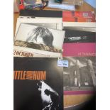 Records : U2 albums - some duplication - all look