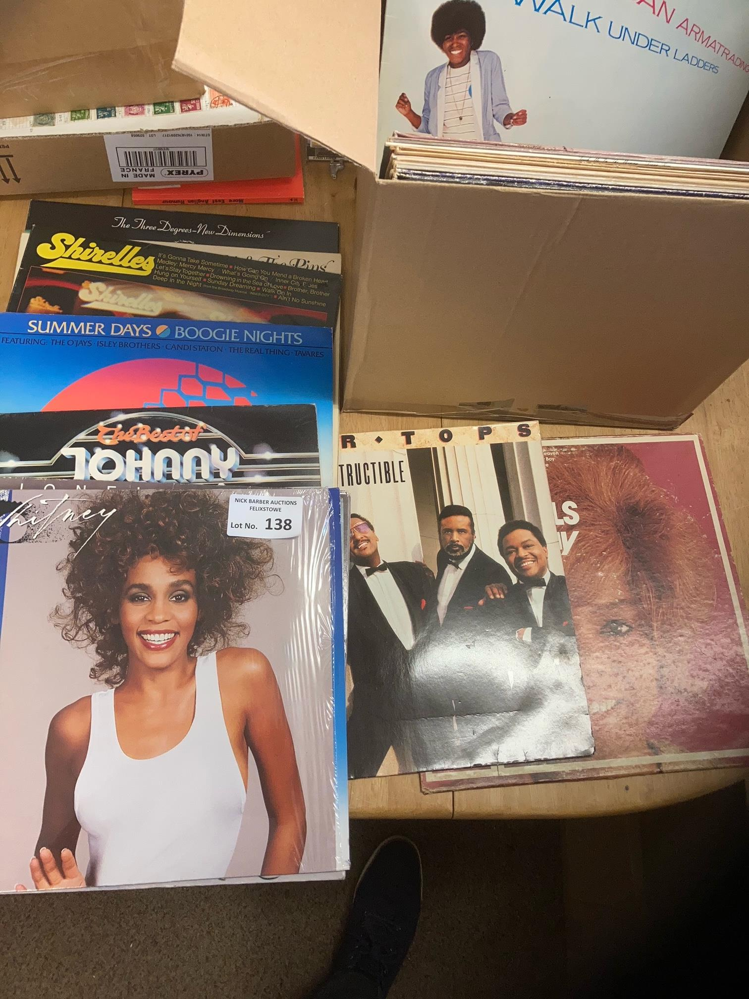 Records : 30+ Classic Rock albums inc Mary Wells,