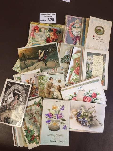 Postcards : 110 greetings cards all in fine condit