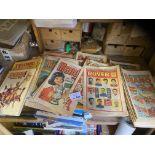 Comics : 150+ comics 1960's-80's inc Rover, Hornet