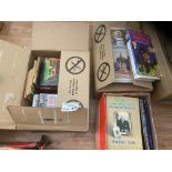 Books : Various box of books some signed autograp