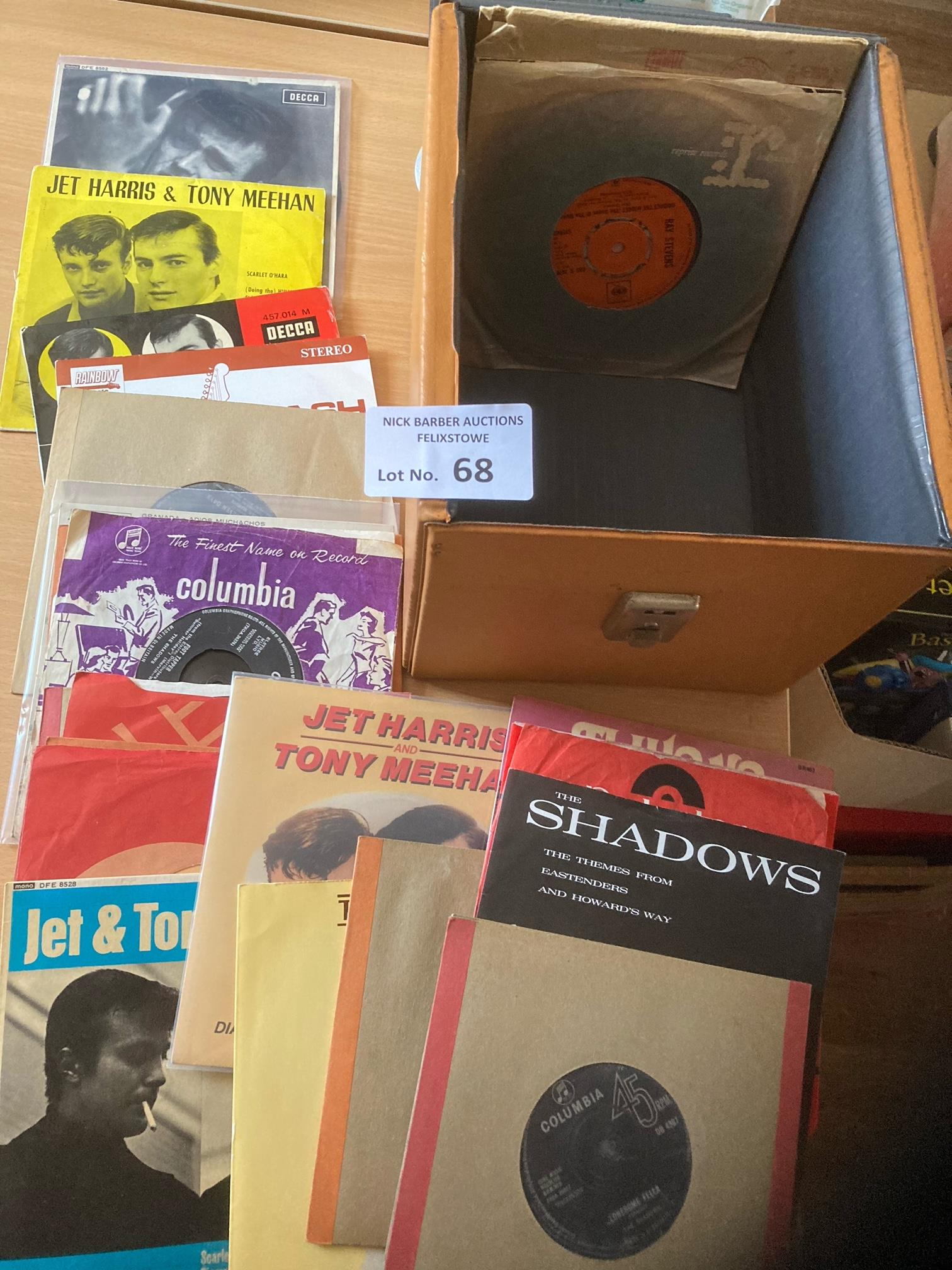 Records : Nice collection of 23 UK singles/EP's by