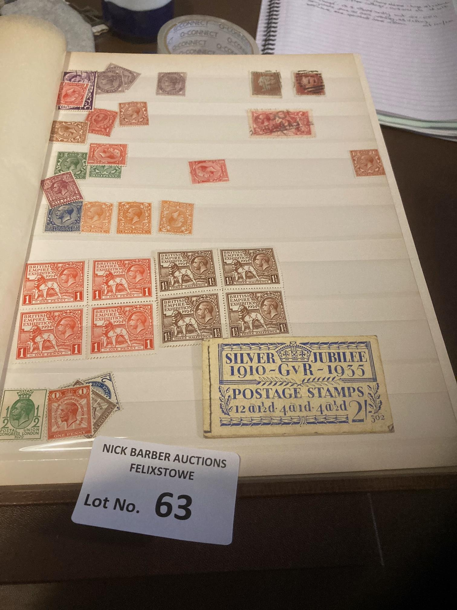 Stamps : GB 4 albums mostly mint QV-QEII many bloc - Image 5 of 5