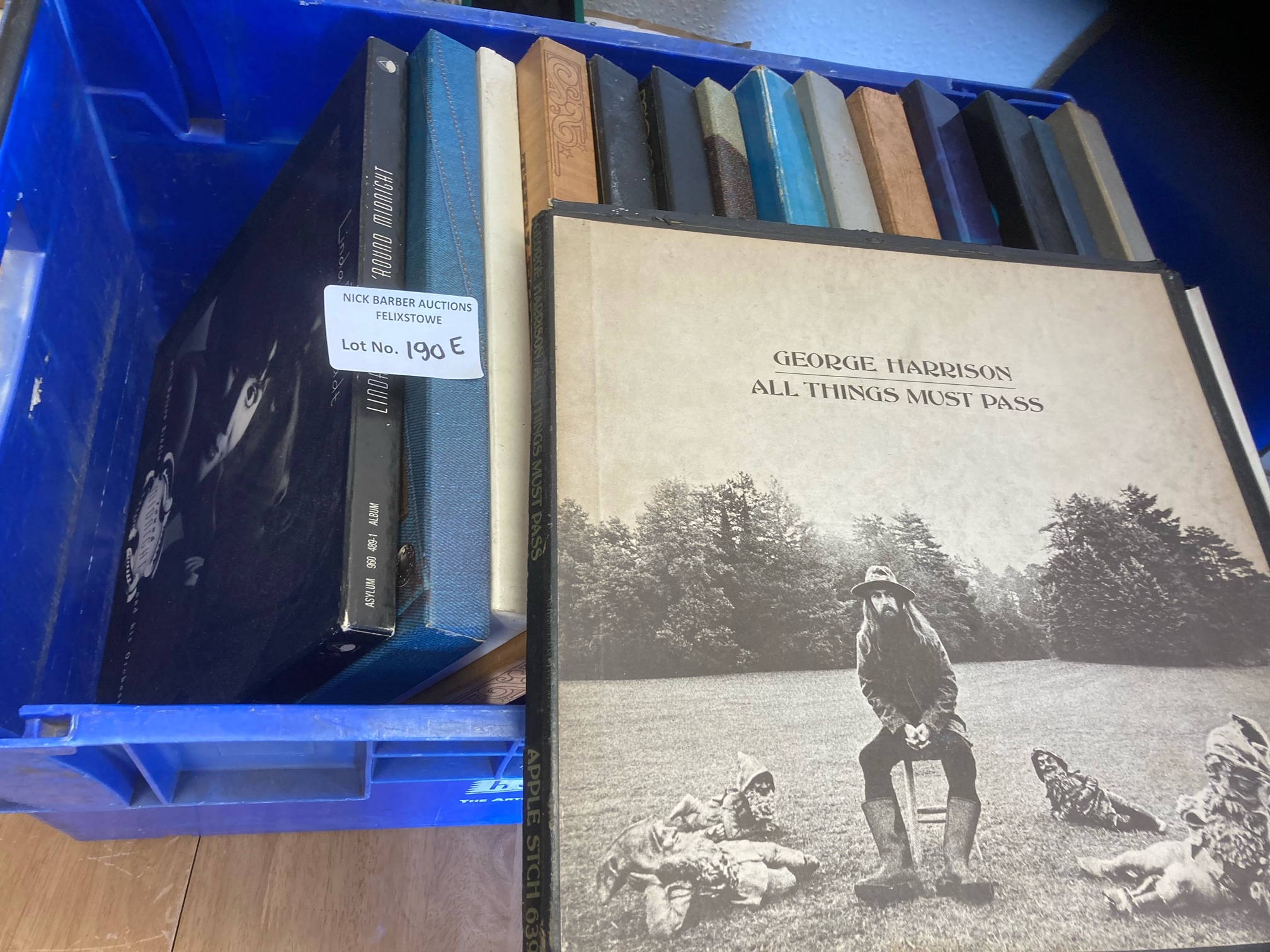 Records : Collection of box sets inc George Harris