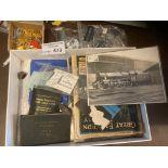 Collectables : Railway ephemera inc ticket books m
