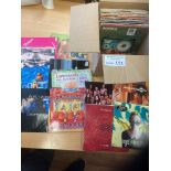 Records : 50+ Indie picture sleeve singles inc Blu