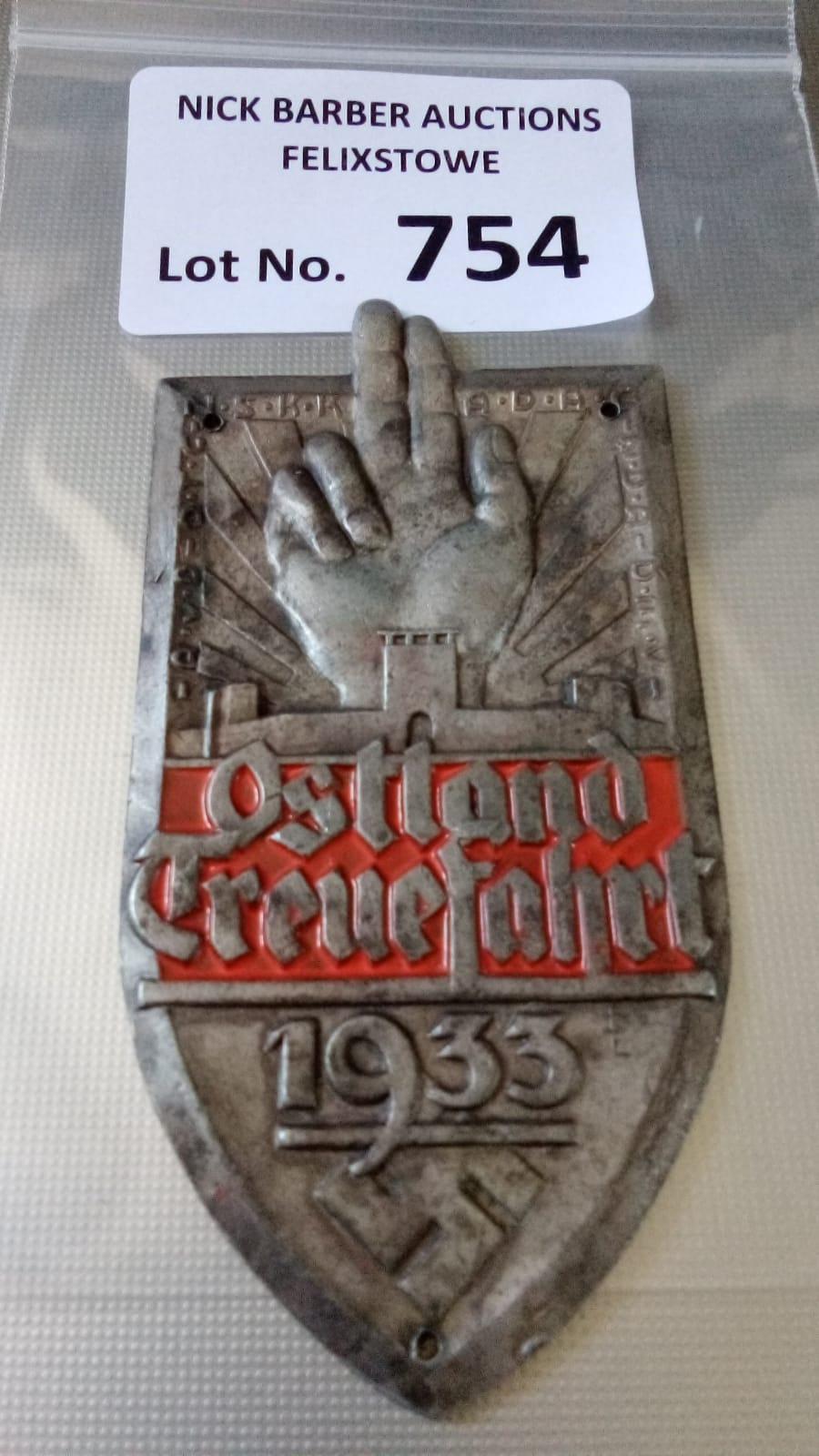 Militaria : German NSDAP interest an Ostland 1933