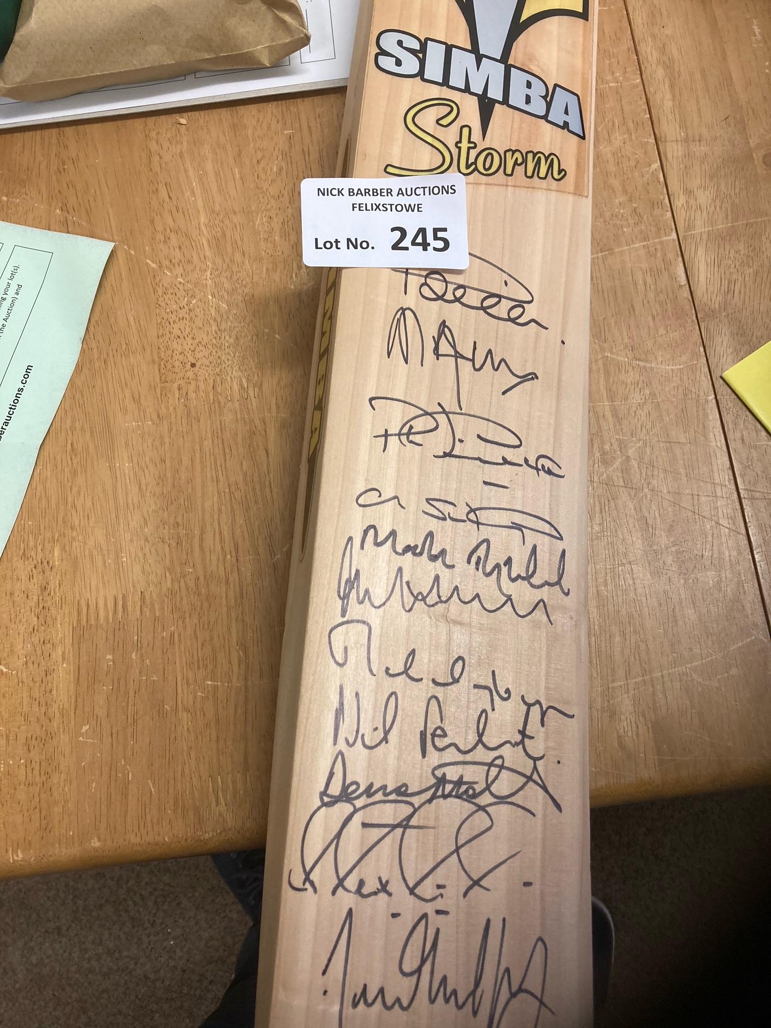 Cricket : Lashings Cricket Club bat includes many