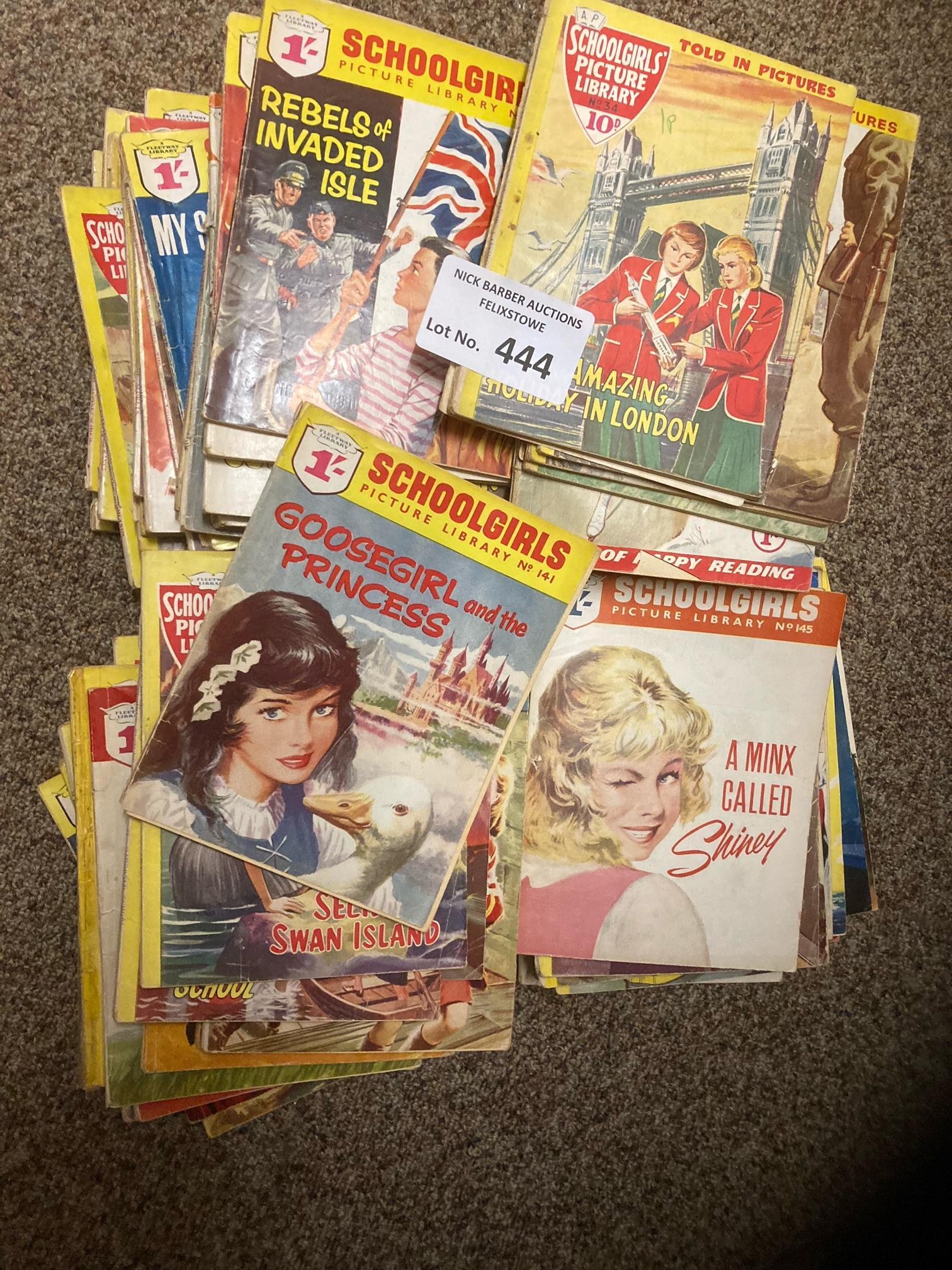 Comics : Schoolgirls Picture Library 1960's genera