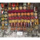 Militaria : 42x mixed medals