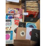 Records : A case of 60's (approx 100) rare singles