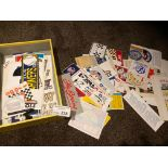 Motor Racing : Good collection of stickers Gulfoil