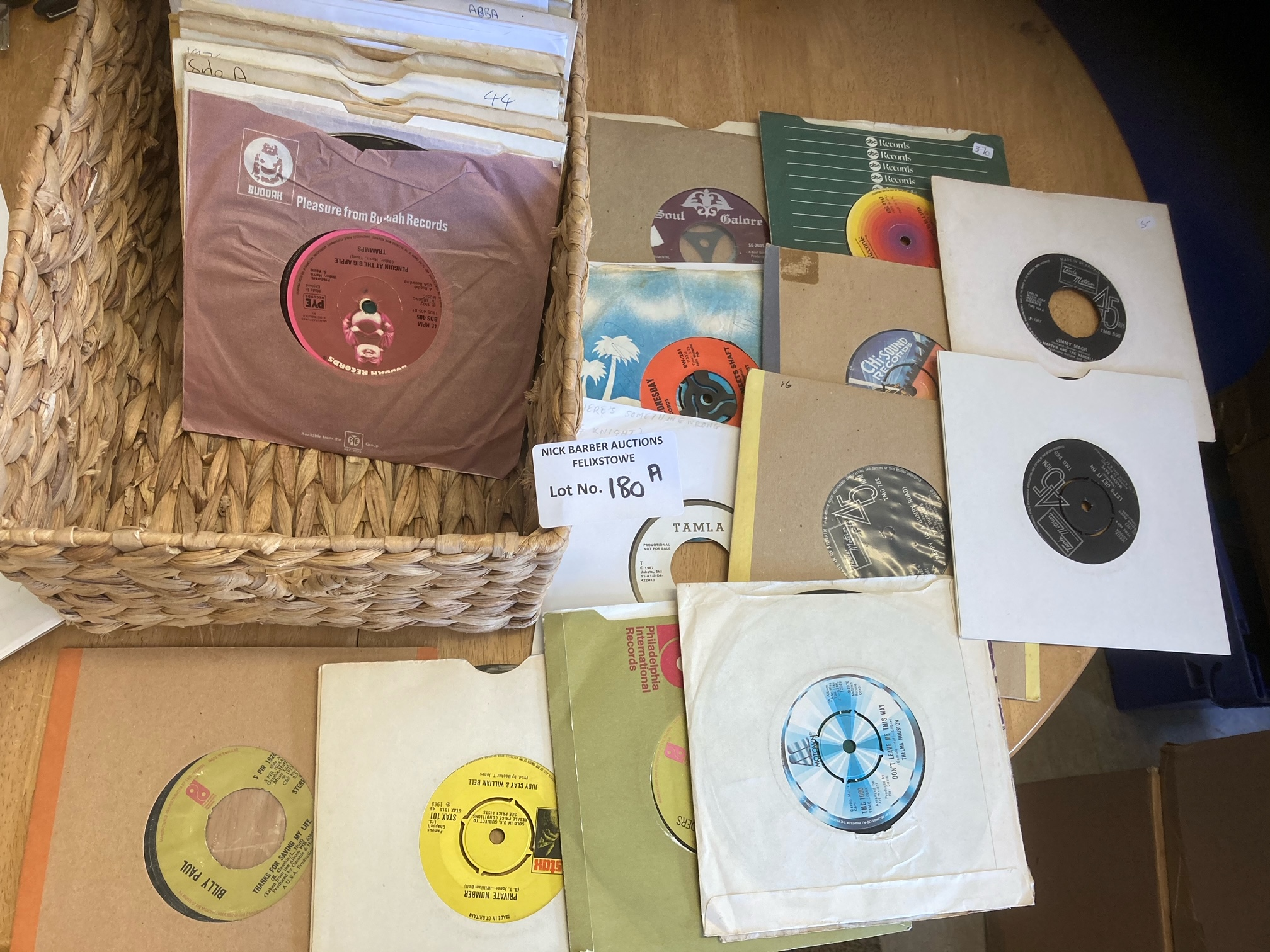 Records : 60+ Soul 45's inc Northern, Motown, Funk