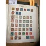 Stamps : Fine old world collection in two 'the fav