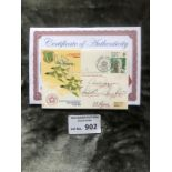Militaria : Multi signed cover by various Galland,