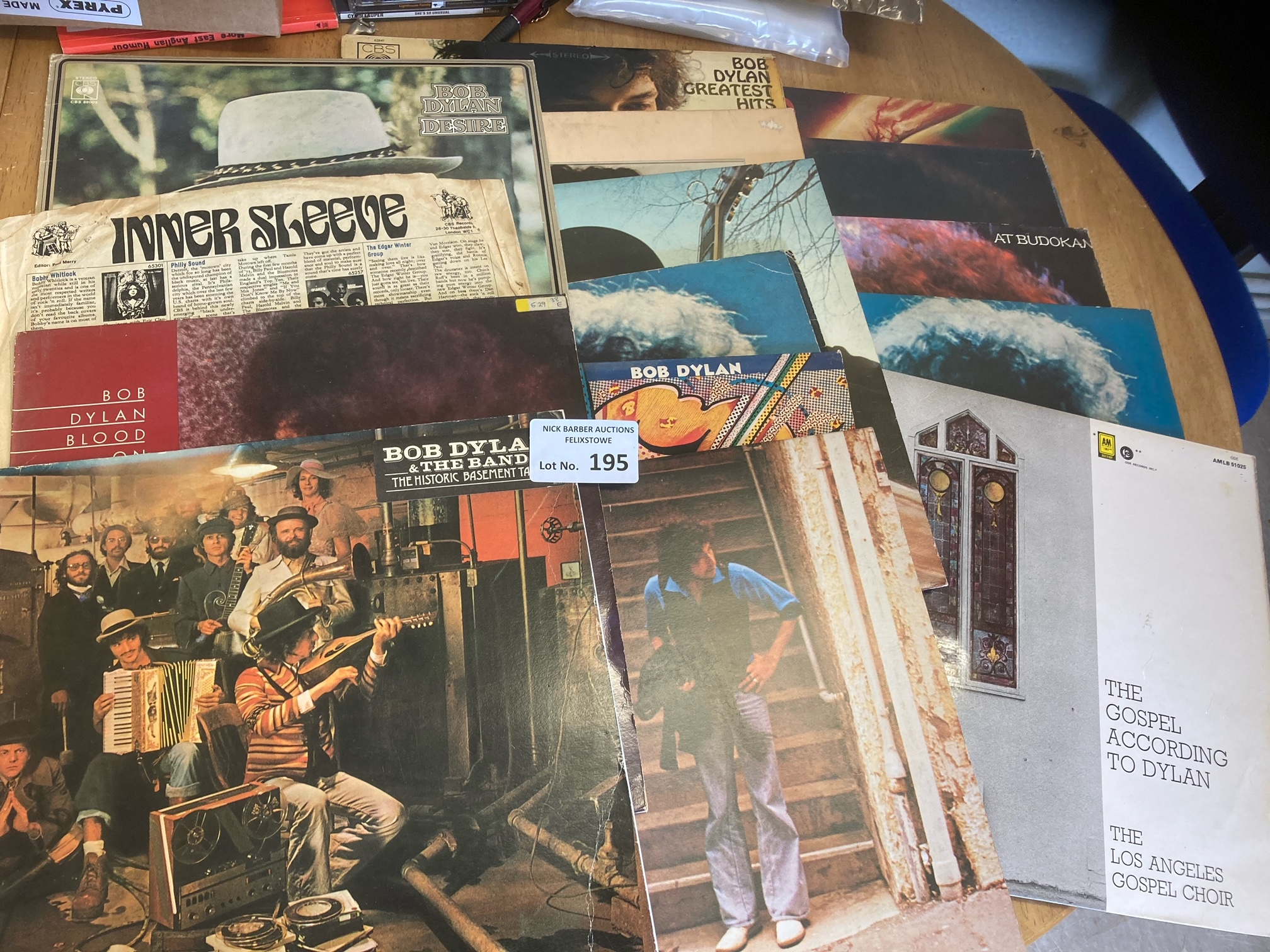 Records : BOB DYLAN albums (14) nearly all differe