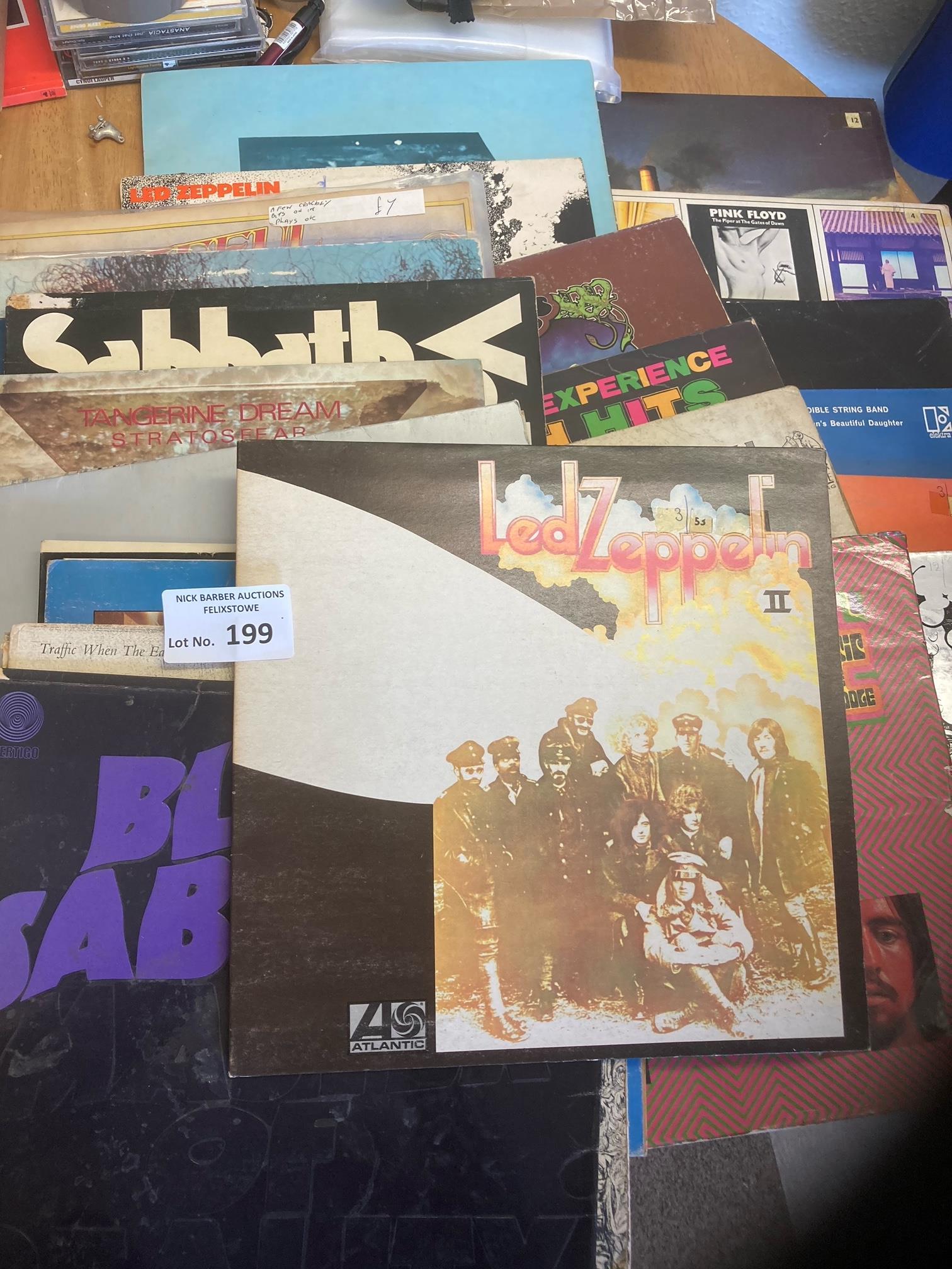 Records : 30 Progressive Rock albums inc Led Zeppe