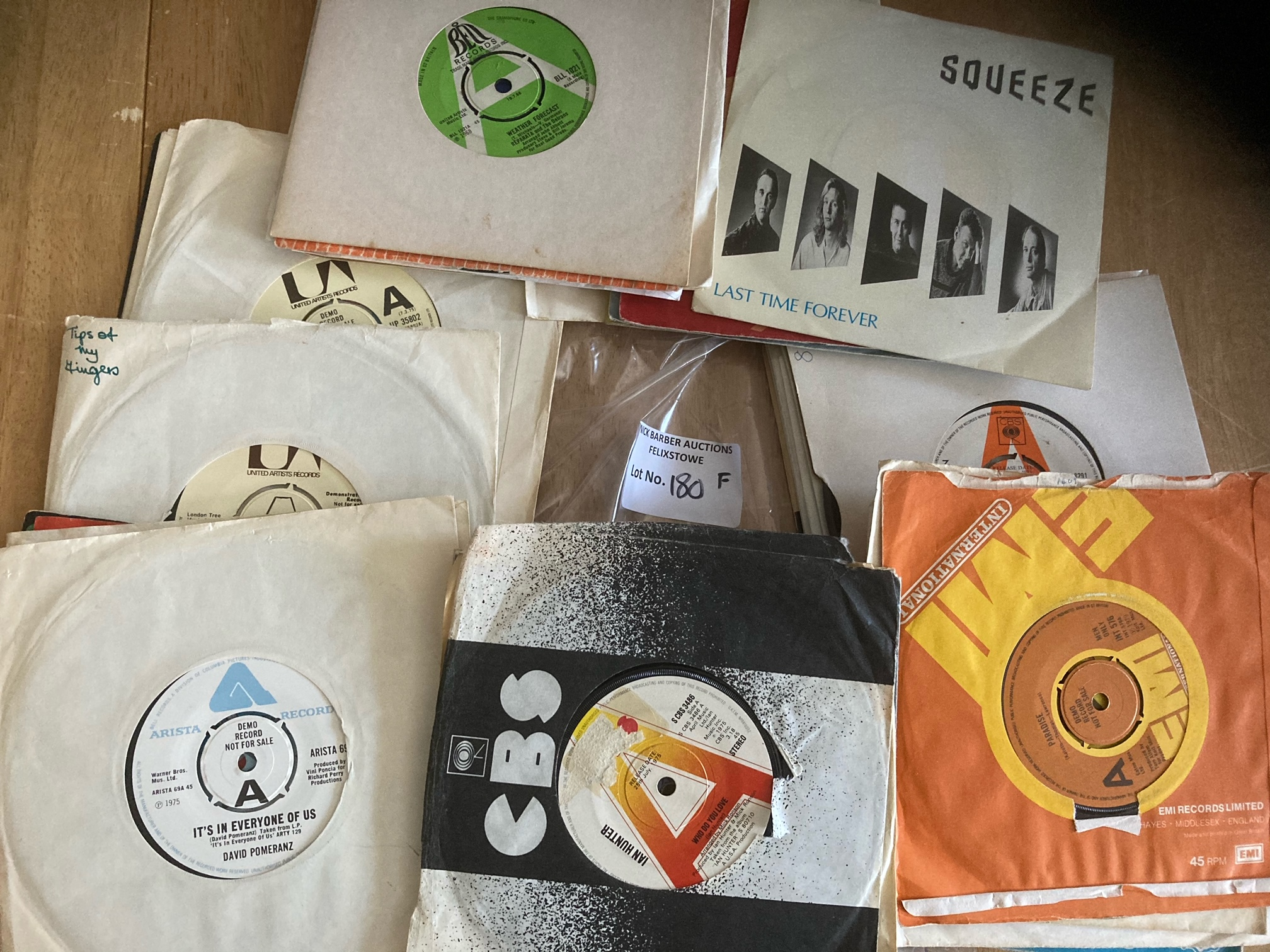 """Records : Nice collection 7"""" demos various labels"""