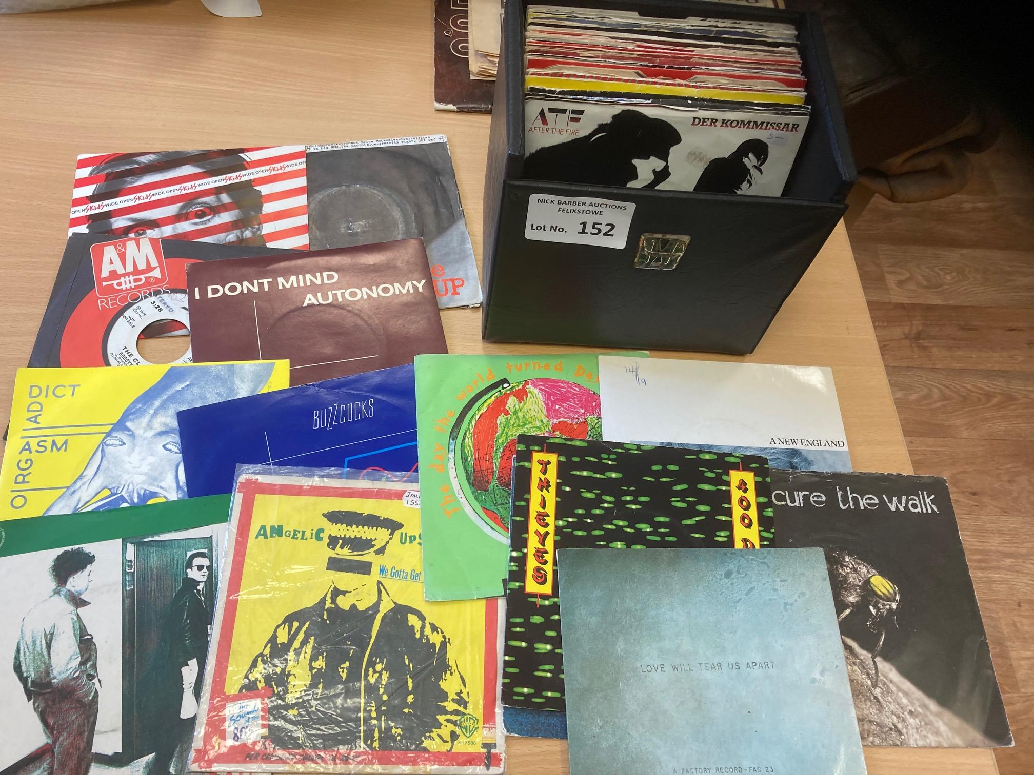 Records : 50+ Punk singles inc Buzzcocks, Cure, Cl