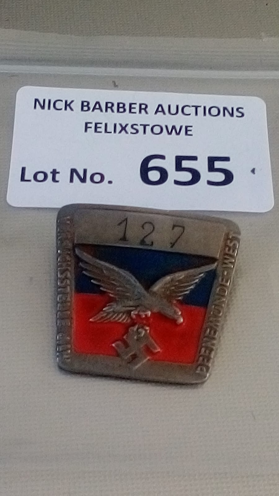 Militaria : German Luftwaffe Mechanics ? workers b