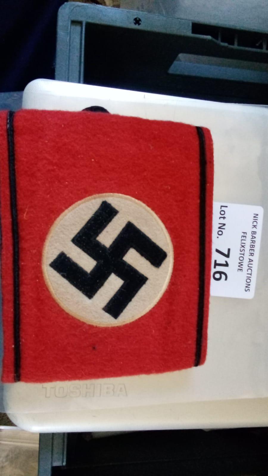 Militaria : German SS interest, armband, service w