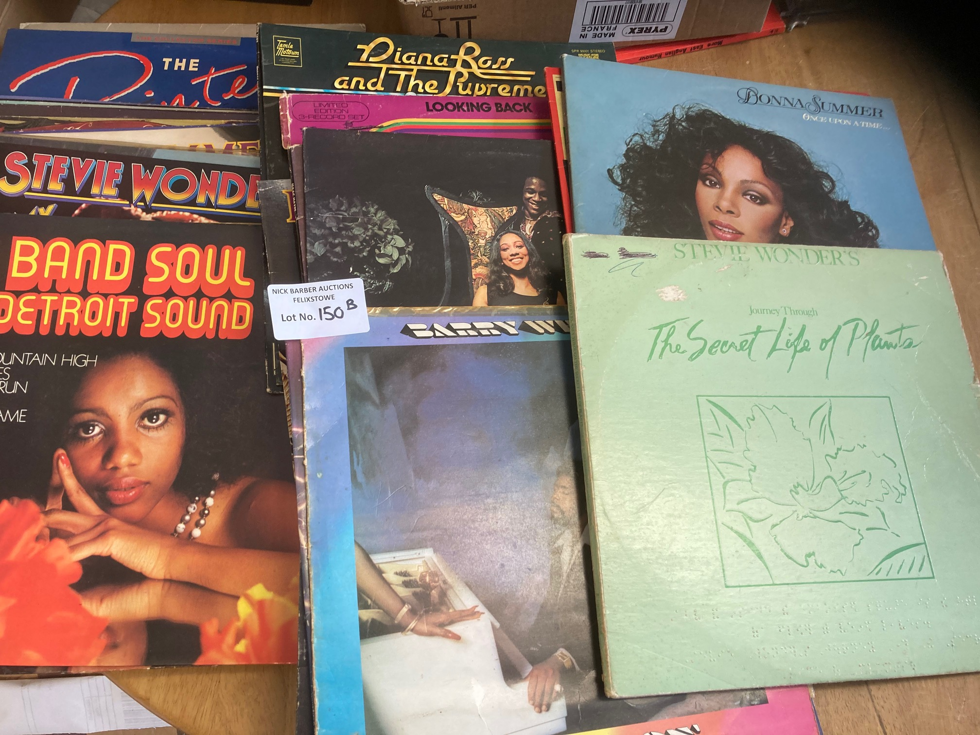 Records : 35+ Soul albums inc Gladys Knight, Stevi