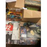 Records : 30+ Classic Rock albums inc U2, Joe Wals