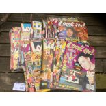 Comics : Look In magazine all late 80's - early 90